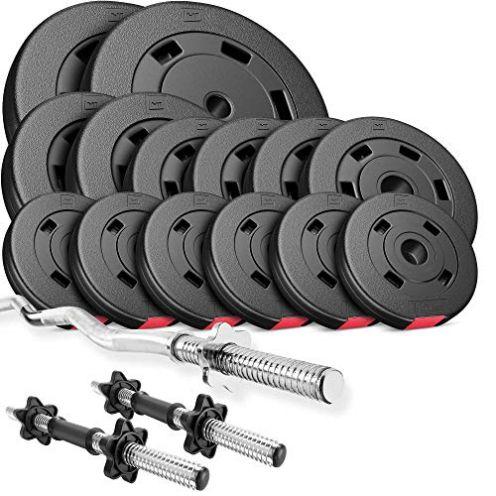 Hop-Sport Hantelset 56 kg
